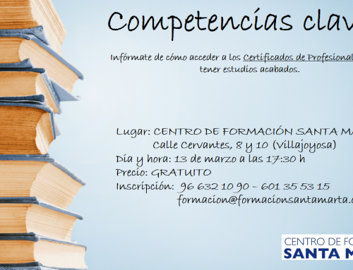 Sesión informativa COMPETENCIAS CLAVE