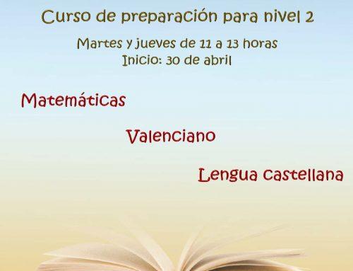 CURSO PREPARACIÓN COMPETENCIAS CLAVE