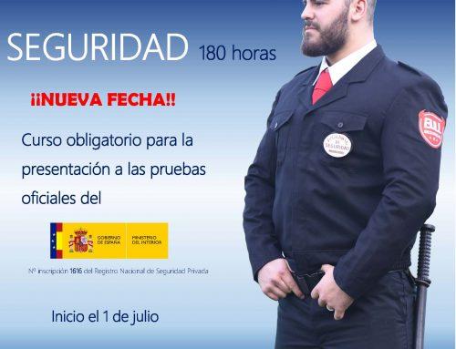 NUEVO CURSO VIGILANTE DE SEGURIDAD