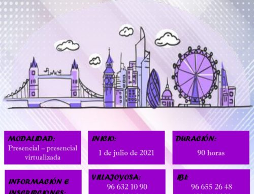 INGLÉS B1 – VERANO 2021